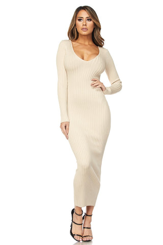 Image of Ivory Midi Dress