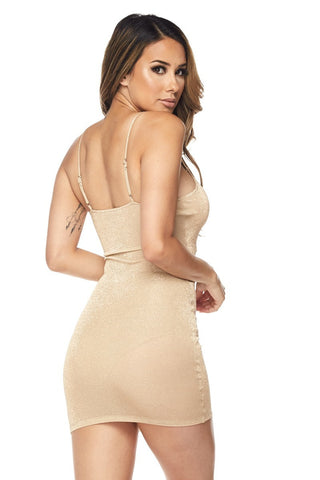 Image of Stella Cami Dress - Nude