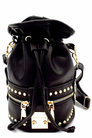 Studded Mini Backpack