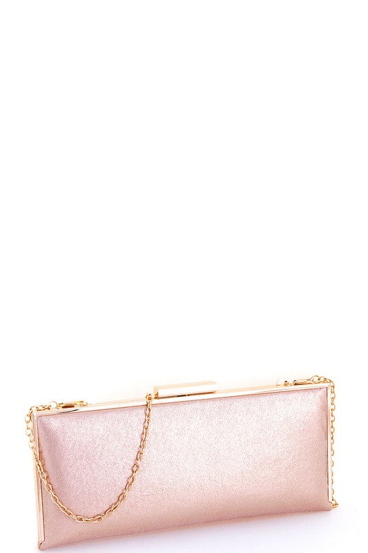 Gold Chic Hard Shell Purse