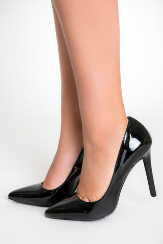 Image of Destiny Patent Pumps - Black