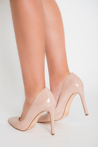 Destiny Patent Pumps - Nude