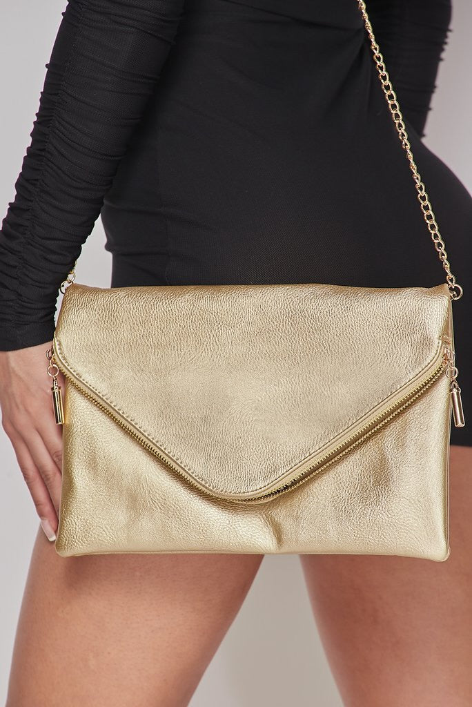 Gold Envelope Purse