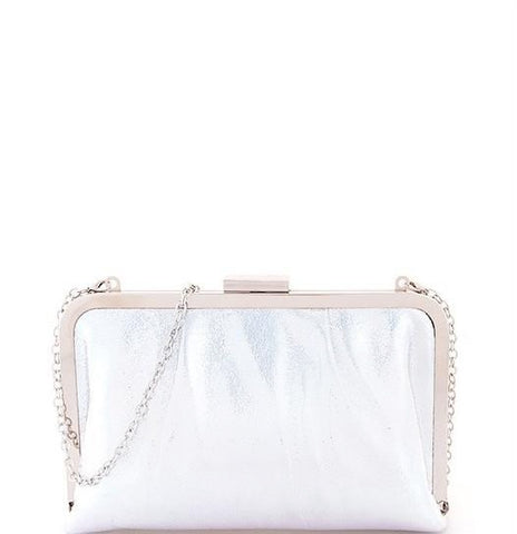 Image of Silver Chic Glossy Purse