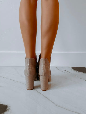 Image of Alice Booties - Taupe
