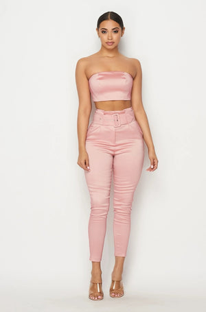 2-Piece Blush Pant Set