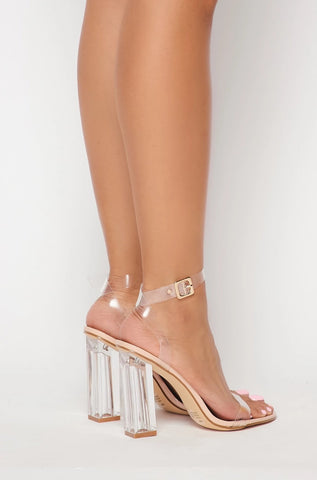 Image of Strappy Block Heel Sandals