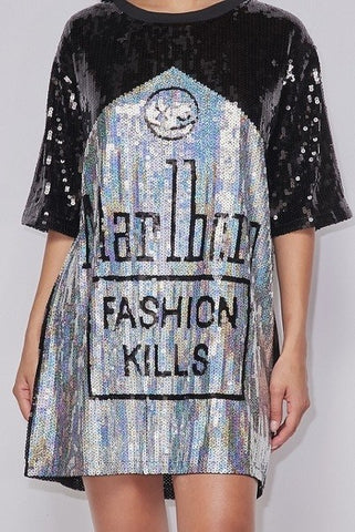 Image of Oversized Fashion Kills Top