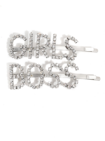 2-Piece Girl Boss Clip Set