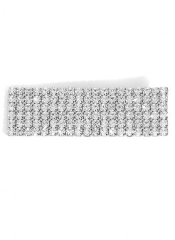 Image of Studded Rectangular Hair Clip