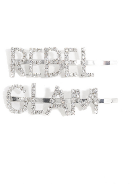 2-Piece Rebel Glam Clip Set