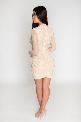 Image of Amaya Pearl Dress - Ivory