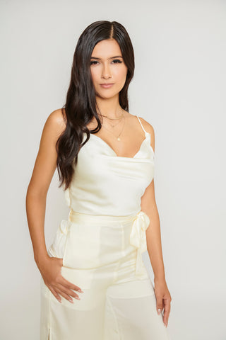 Image of Ebony Jumpsuit - Ivory