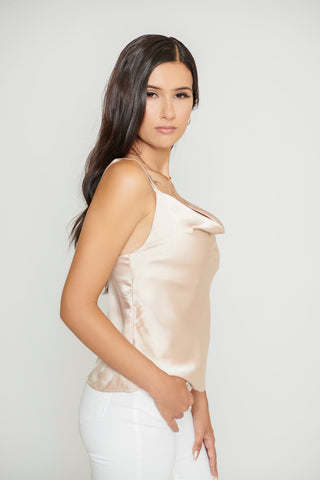 Elvina Top - Champagne