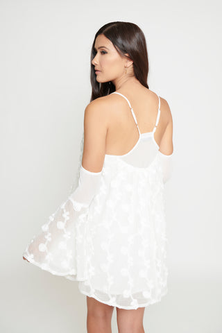 Image of Eliana Bell Dress - White