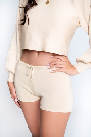 Nova 2-Piece Short Set - Nude