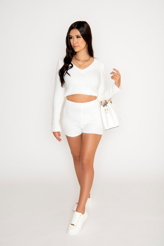 Sienna 2-Piece Short Set - White