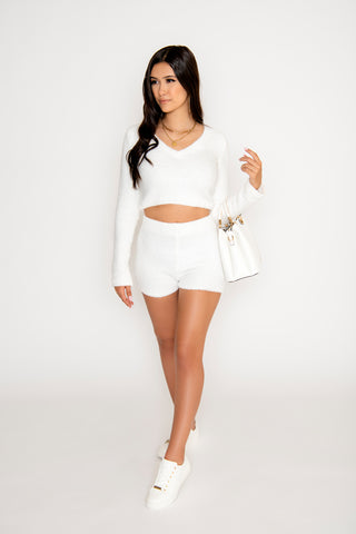 Image of Sienna 2-Piece Short Set - White
