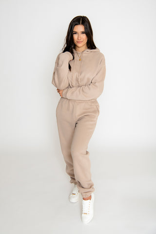 Image of Mya 2-Piece Pant Set - Taupe