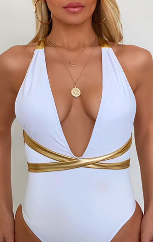 Image of Harper One Piece Swimsuit - White