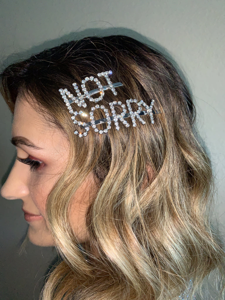 Not Sorry Hair Pin Set