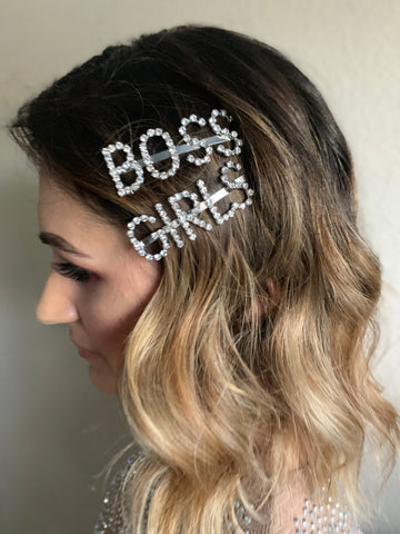 Image of 2-Piece Girl Boss Clip Set