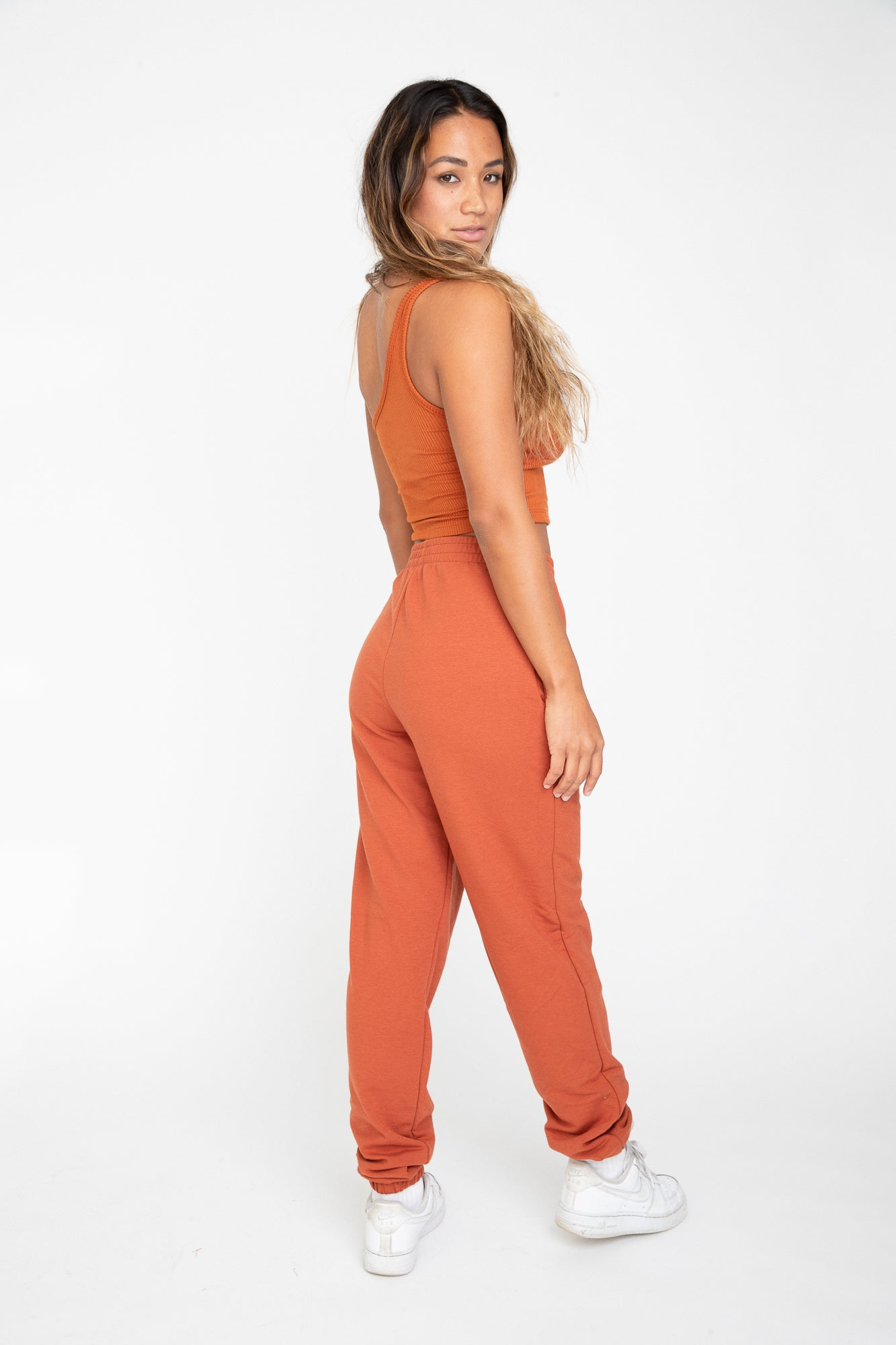 Carrie Crop - Cinnamon