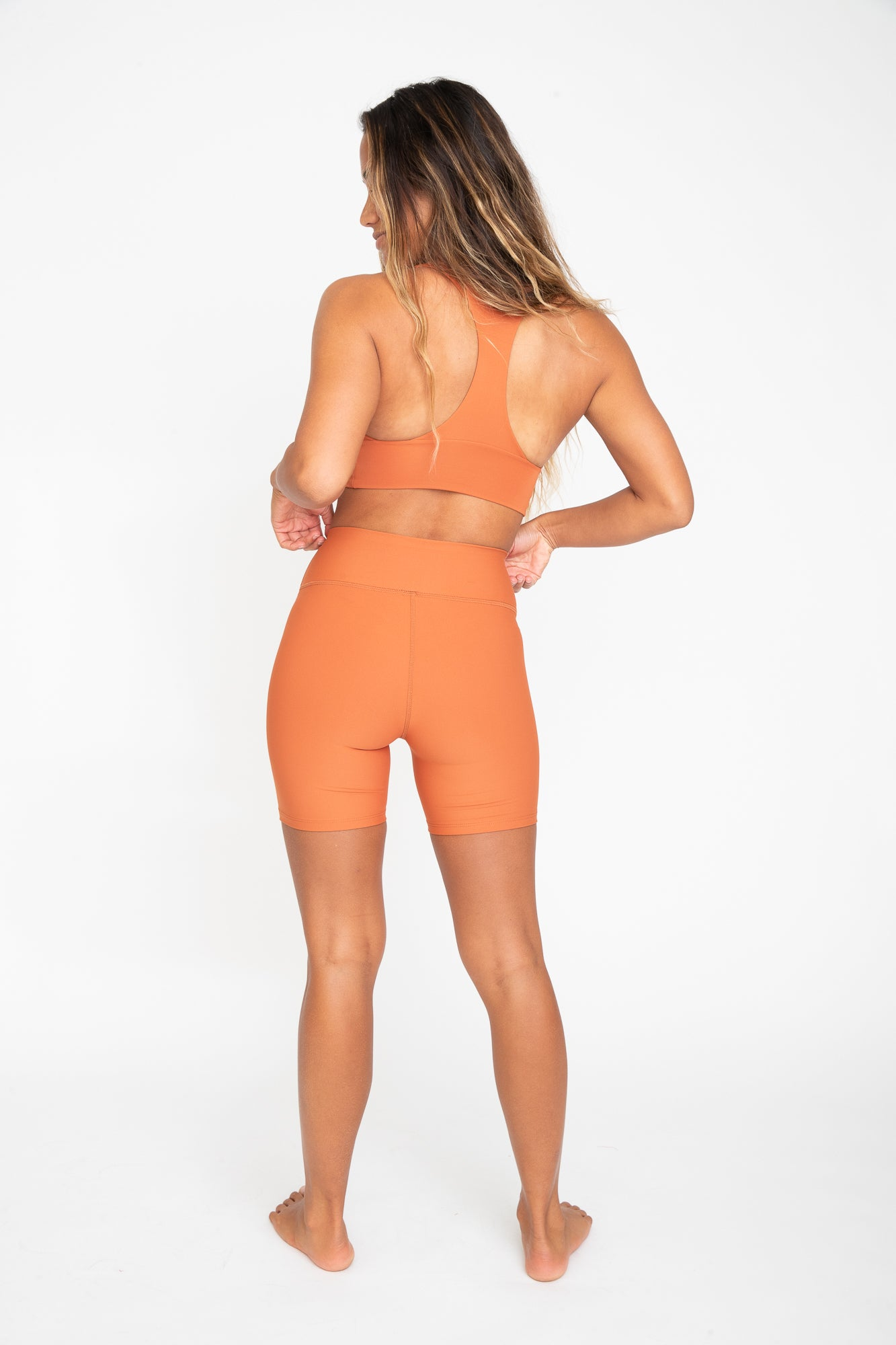 Cece Bike Short - Cinnamon