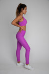 Cece Legging - Neon Purple