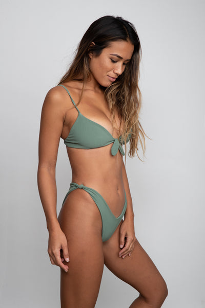 Suzanne Bottom - Green Ribbed
