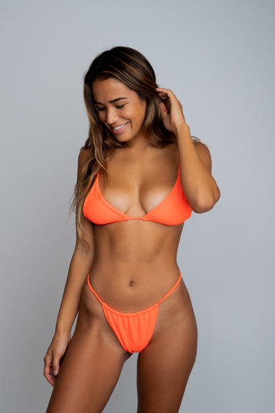 Ella Top - Neon Orange