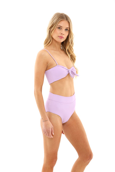 Annie Top - Lavender Ribbed