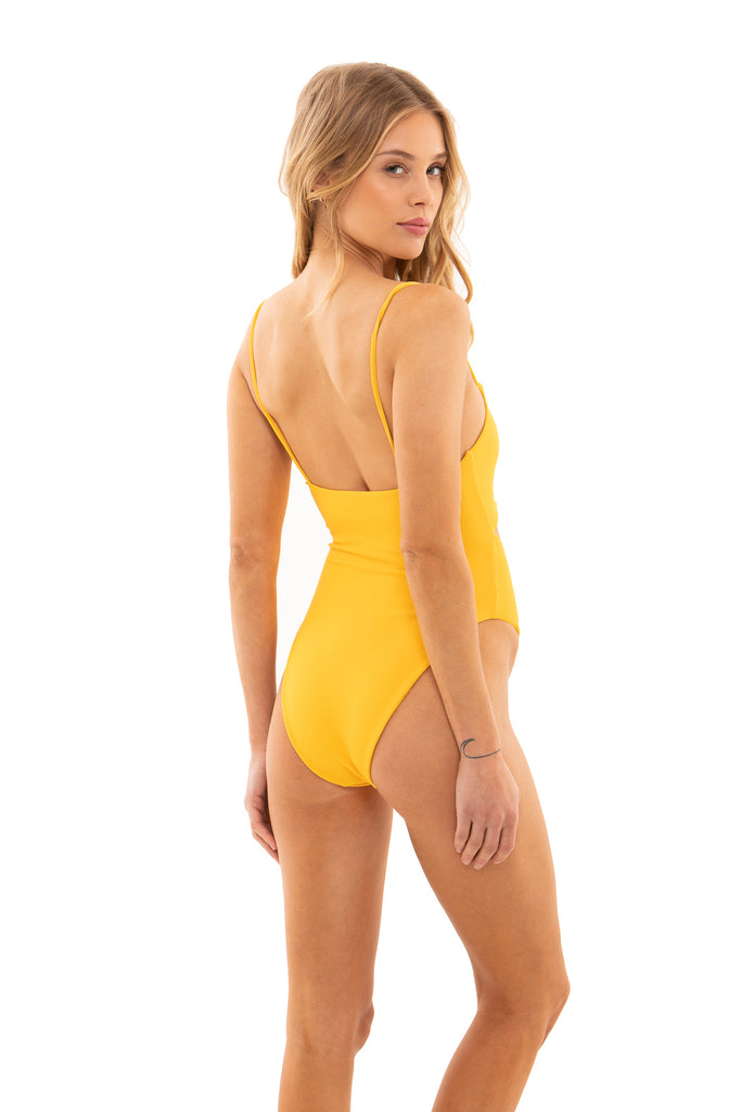 Madison - Yellow Ribbed