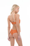 Mandi Bottom - Rust Ribbed