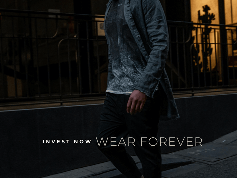 INVEST NOW WEAR FOREVER
