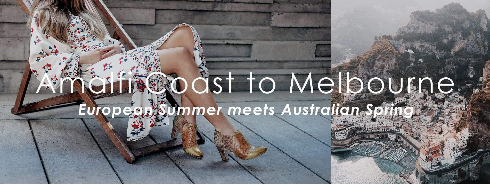 AMALFI COAST TO MELBOURNE- European Summer meets Australian Spring