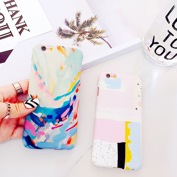 Abstract Painting Iphone Case,[variant_title]- Jan&Aya