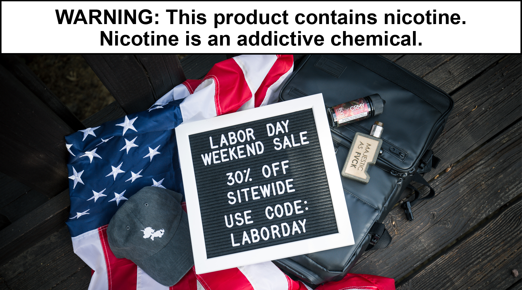 Stock Up and SAVE This Labor Day Weekend with BLVK Unicorn!