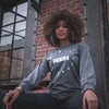 BLVK Life Long Sleeve T-Shirt (Grey)
