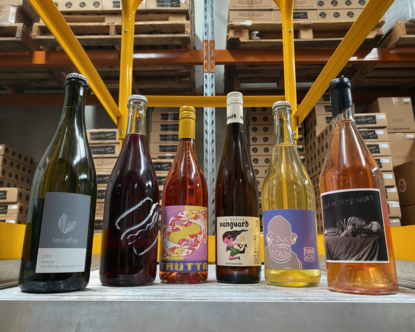 PACK #3: Natural wines: six pack