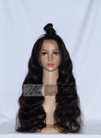 BLACK (1B) FULL LACE WIG