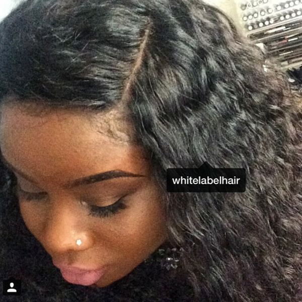 LOOSECURL LACE FRONTAL