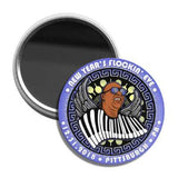 "LE25 New Year's Flockin' Eve 3"" Pocket Mirror"