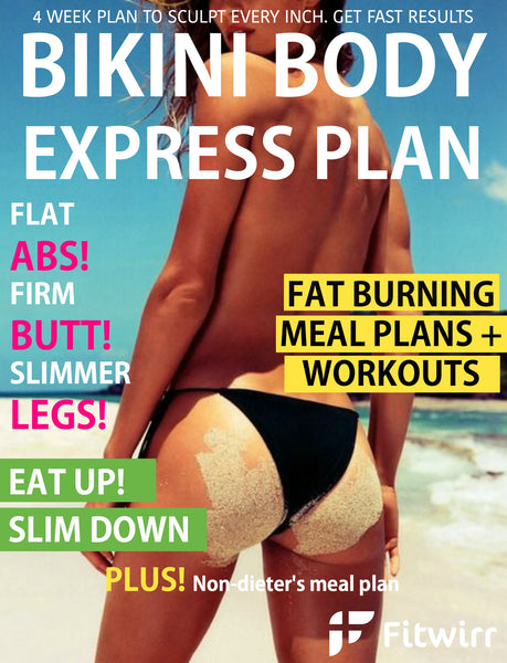 Bikini Body Workout and Diet Plan PDF (E-Book) - FITWIRR SHOP