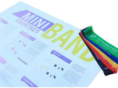 Mini-Band Exercise and Poster