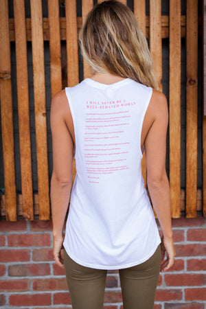 Well Behaved Woman Muscle Tank