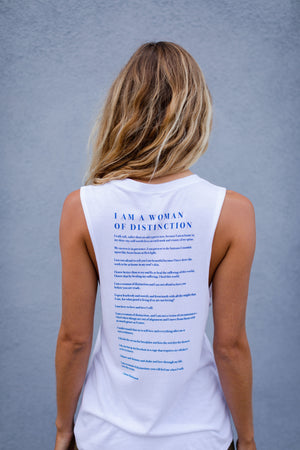 Woman of Distinction Muscle Tank