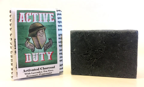 active duty soaps activated charcoal