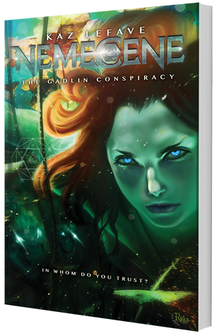 Nemecene: The Gadlin Conspiracy (Series, Episode 2) LIMITED AUTHOR SIGNED COPY