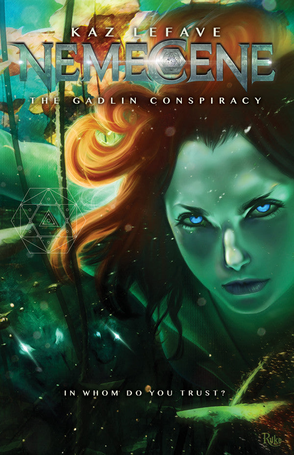 Nemecene The Gadlin Conspiracy by Science Fiction Fantasy Author Kaz Lefave for Kindle